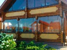 Гибкик окна в деревянном доме