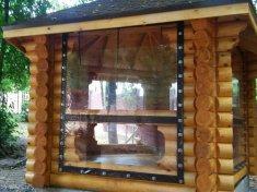 Мягкие окна для беседки 680 руб./м.