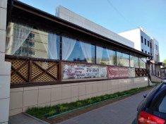 Гибкие окна из ПВХ для ресторана